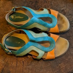 Earthie's || Brightly Colored Sandals